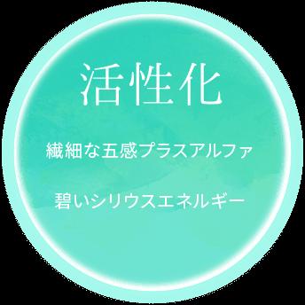 活性化 繊細な語幹プラスアルファ碧いシリウスエネルギー