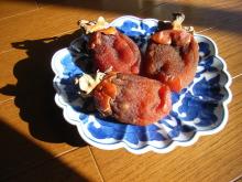 ゆめたま SENSE OF わんDER-干し柿
